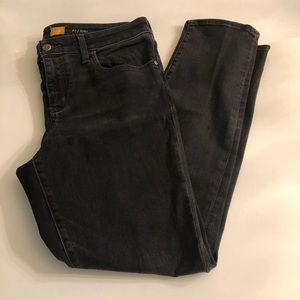 Anthropologie Pilcro STET Black-wash Jeans 31